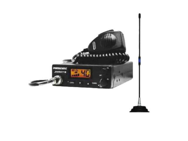 CB radio + antena